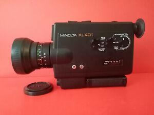 Vintage Design // Minolta XL 401. Super 8 Movie Camera /