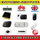 Unlocking Code For Huawei E5220 E5332 R206 E5786 Mobile Wi-Fi Instant Unlocking