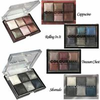 Technic Colour Max Baked Eye Shadow Palettes Highly Pigmented Metallic Shimmer