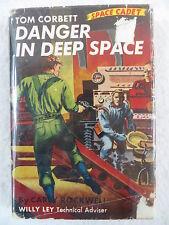 Carey Rockwell TOM CORBETT SPACE CADET DANGER IN DEEP SPACE Grosset & Dunlap