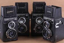 Camera LUBITEL 166U Universal LOMO Russian TLR camera Medium Vintage USSR 4 PCS
