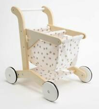 Wooden Shopping Cart, ages 18 months and up.