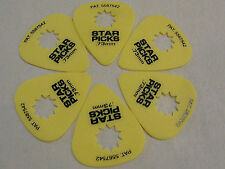 EVERLY STAR GRIP PICKS .73 MM GUITAR PICKS MADE IN THE USA 6 PICKS