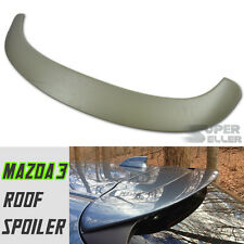 PAINTED MAZDA 3 3RD HATCHBACK OE TYPE REAR ROOF SPOILER 2014UP ABS