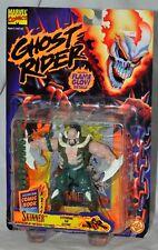 Ghost Rider Skinner figura llama brillantes detalles MOC Toybiz 1996 Marvel
