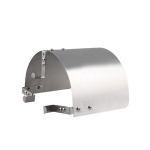 """Stainless Steel Car 2.5 '' to 5 """"Neck Cone Air Intake Filter Heat Shield Cover"""