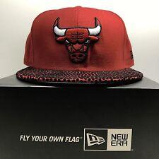NEW Era 59 FIFTY Chicago Bulls in pelle 7 1/4 Aderente Berretto Da Baseball 2 GRATIS