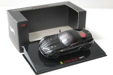 1:43 Hot Wheels elite ferrari 599 gto Black New en Premium-modelcars