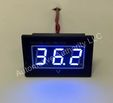 36V Golf Cart Digital Volt Meter Battery Gauge Club Car EZGO Yamaha 36 Volt BLUE