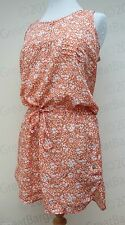 Ladies Calvin Klein CK Floral Summer Dress / Top Draw String Waist S M L XL BNWT