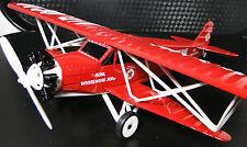 Avión Avión Militar Modelo De Metal Armour WW1 Vintage 1 48 Carousel Rojo B17