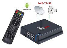 pi SmartBox Android mini pc 4K decoder DTV DVB T2 S2 Streaming iPTv Tv recorder