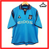 Manchester City Football Shirt Le Coq XL 46 48 Home Soccer Jersey MCFC 2001 2002