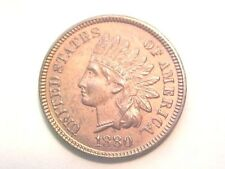 1880 Indian Head Cent..Uncirculated..MS Red..Choice..Near Gem Mintstate