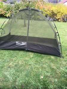 British Military Army Mosquito Mossy Mozzie Pest Dome Tent Inner Net with Frame