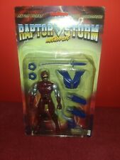 Power Rangers Boot Knock Off Raptor Storm On Card Action Figure