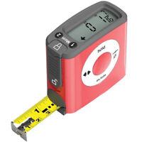 5M/16Ft Lcd Digital Tape Measure Portable Digital Measuring Tape Accurately N2J8