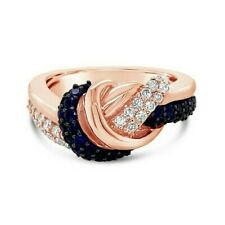 Le Vian® Ring - Cornflower Ceylon Sapphire™ Vanilla Diamonds® 14K Rose Gold