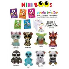 2019 SET of 8 TY Mini Boo Series 4 Hand Painted Collectible Vinyl Figurines NEW