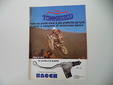 advertising Pubblicità 1976 TOMMASELLI e MOTO BETA e PAOLO PIRON