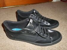Men's Black Trainers / Pumps  by Burton's  Lace Up Size 11 EU 45  NEW  RRP £26