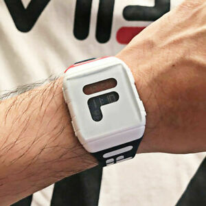 FI LALimited Edition Digital Watch Unisex Watch With Dual Timezone Men and Women