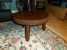 Vintage Rustic Natural Wood Log Display Table Slice Log Cabin Stool Plant Stand