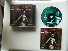 Tomb raider 1 I playstation PS1 PS P S 1 psx