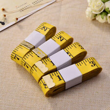 120'' (3M) Tailor Seamstress Cloth Body Ruler Tape Measure Sewing Cloth Yellow
