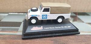 LandRover Series III 109 UN   H0 1:87 Schuco  Edition Metal, OVP nicht vollständ