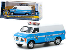 1987 Dodge Ram B250 Van Nypd New York Police 1/43 Diecast Model Greenlight 86577