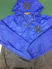 Monogrammed Two Color Rain Jacket w Hood and Left Chest Monogram