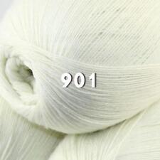 AIP 1 Ball x 50gr LACE Soft Acrylic Wool Cashmere hand knit Crochet Wrap Yarn 01