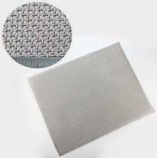432mm x 355mm Off-Cut Sheet -  Heavy Duty Stainless Steel Mesh - SS321 Grade