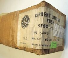 General Electric 9F60DMH003 Fuse   Type EJO-1C  15.5kV   3E-AMPS   NEW IN BOX