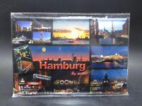 Hamburg Reeperbahn Hafen Michel Blechschild Metall Schild 30 cm