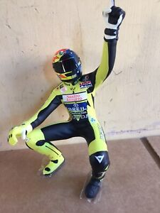 MINICHAMPS V ROSSI riding figure from 122 006196 Donington 2000 set 1:12 Unboxed