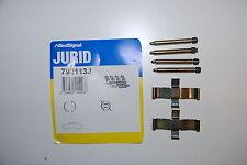 Jurid 792113J Zubehörsatz für Scheibenbremsbelag Hinten Mercedes