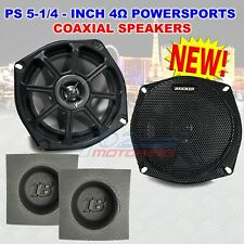 FOR HARLEY DAVIDSON KICKER 5.25 SPEAKERS SELECT BIKE 4OHM FRONT OR REAR BAFFLES