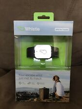 Whistle GPS Pet Tracker Kit activity diary medication food waterproof 2015 NIB