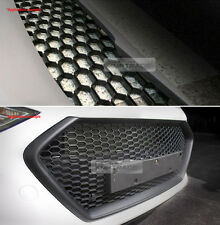 "RS Style M&S Black Honeycomb Mesh ABS Grille Custom Kit 43""x16"" for All Vehicle"