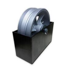 6-inch Cast V Groove Wheel V Groove Cover Box Bracket Sliding Gate Hardware