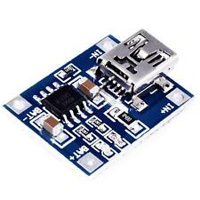 Chargeur batterie battery Lithium LIPO mini USB - module de charge board Arduino