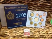 SAN MARINO - BU SET 2005 (+ €5,= ZILVER) LE FINANZE E IL BILANCIO