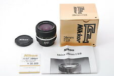 【Almost Unused in BOX】Nikon NIKKOR AiS 28mm f/2.8 Lens w/pricetag fromJapan 551