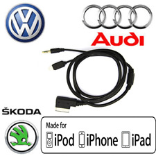 MDI AMI 3.5 mm cable AUX Adaptador Para MP3 Iphone Ipod Ipad AUDI VW SKODA 1 M