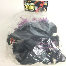 "Godzilla 2000 Soft Vinyl Figure 30cm 12"" Black Unopend bag Banpresto Japan"