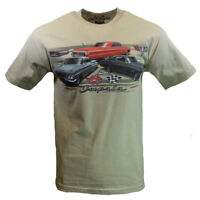 CHEVY IMPALA Mens Tee T Shirt SS Vintage Racing American Muscle Car Logo USA NEW