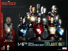 Hot Toys - Iron Man 3 - 1/6 Scale Collectible Bust Deluxe Set (In Stock)