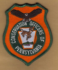 Pa Fish Game Commission Pennsylvania Conservation Officer 1995 Cloth Badge Patch